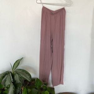 Lavender high waisted pants